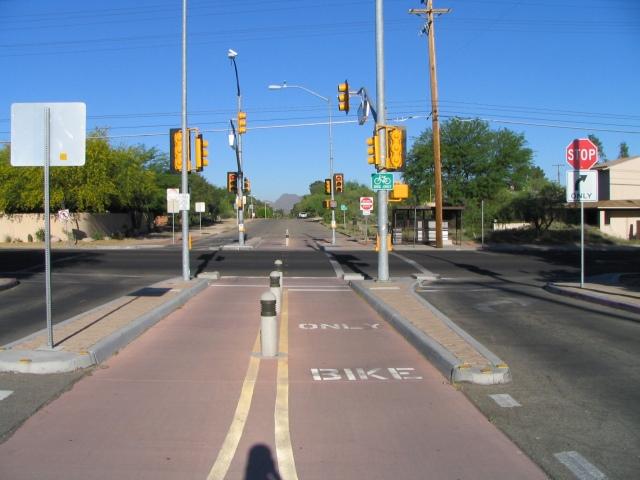 Tucson bike path